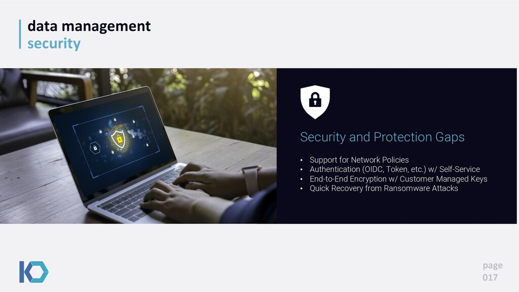 data management security page 017 • Support for...