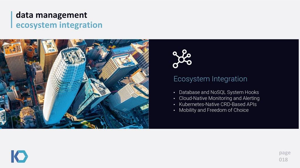 data management ecosystem integration page 018 ...