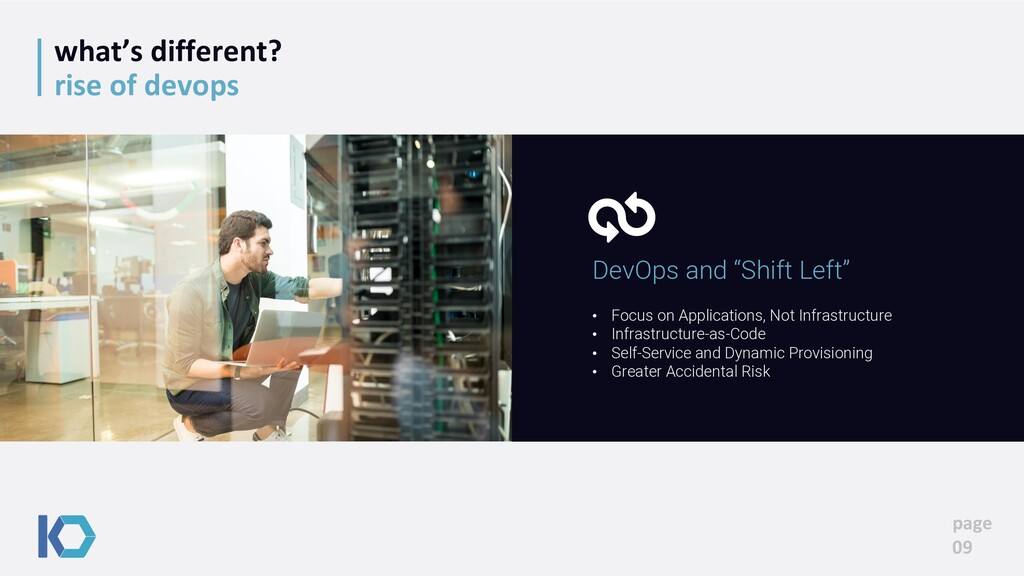 what's different? rise of devops page 09 • Focu...