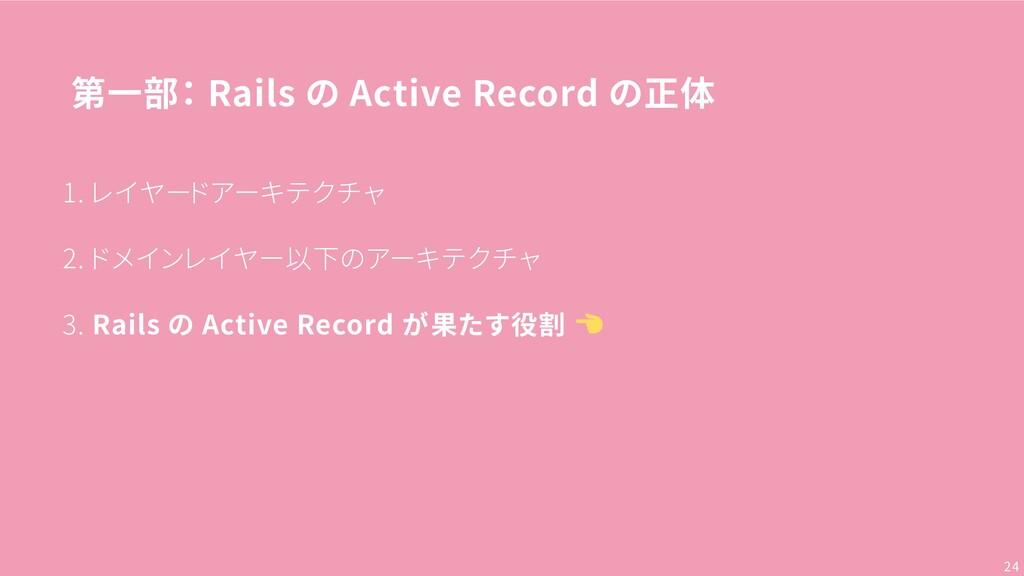 第一部: Rails の Active Record の正体 1. レイヤードアーキテクチャ ...