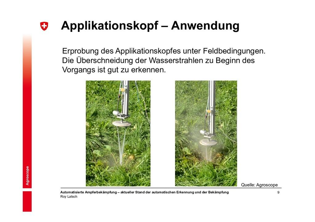 9 Automatisierte Ampferbekämpfung – aktueller S...