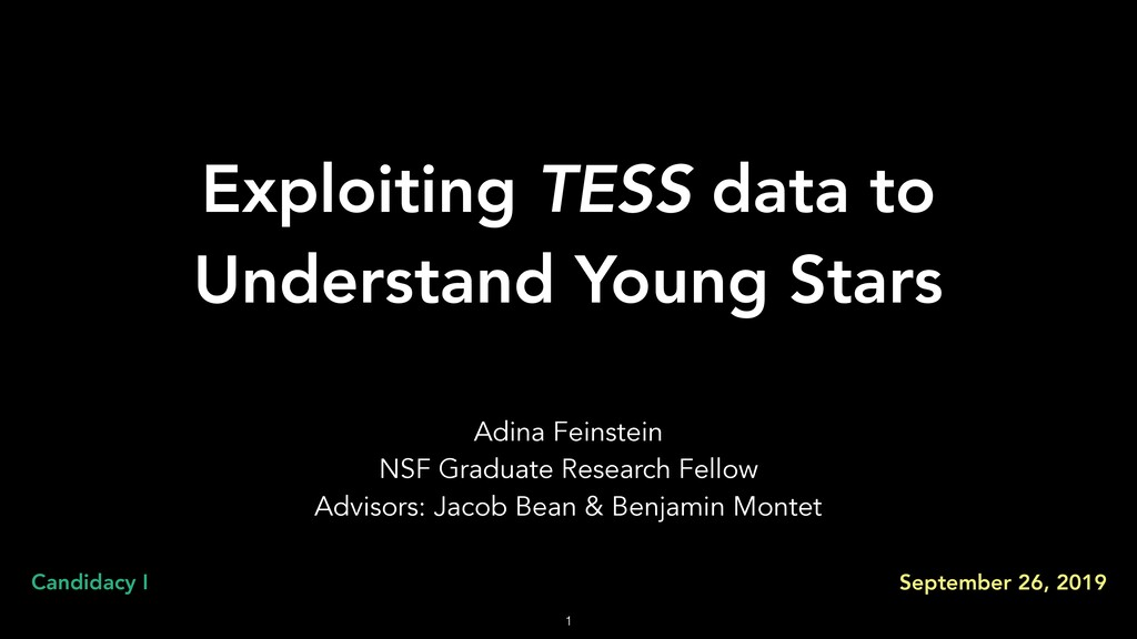 Exploiting TESS data to Understand Young Stars ...