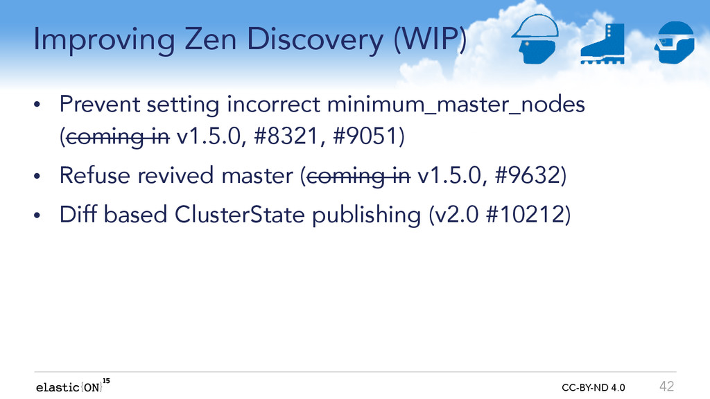 { } CC-BY-ND 4.0 Improving Zen Discovery (WIP) ...