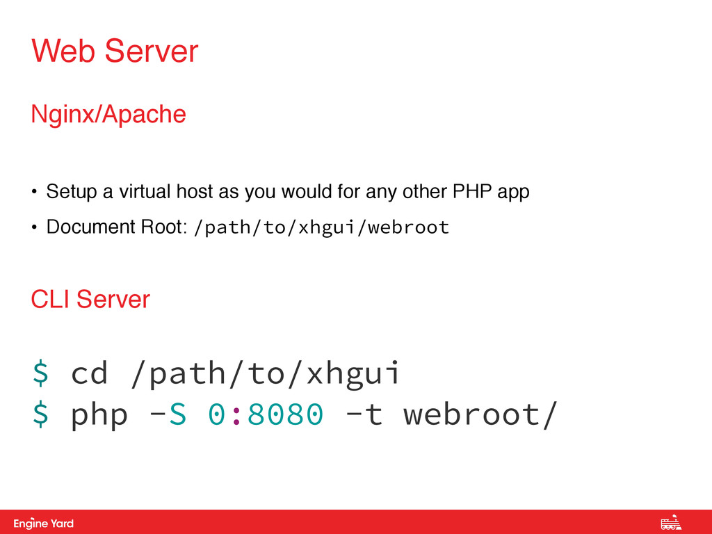 Proprietary and Confidential Nginx/Apache • Set...