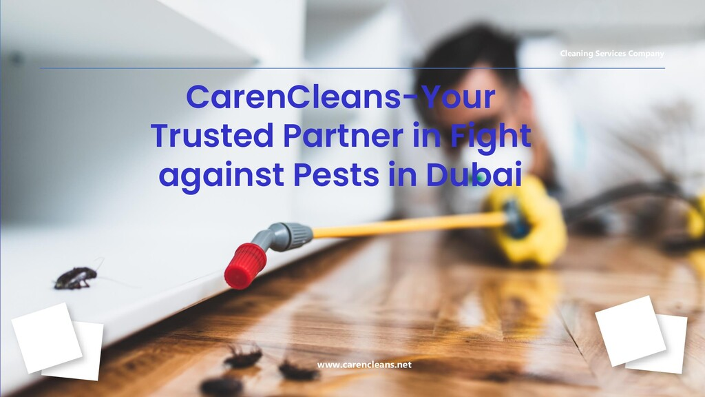 CarenCleans-Your Trusted Partner in Fight again...