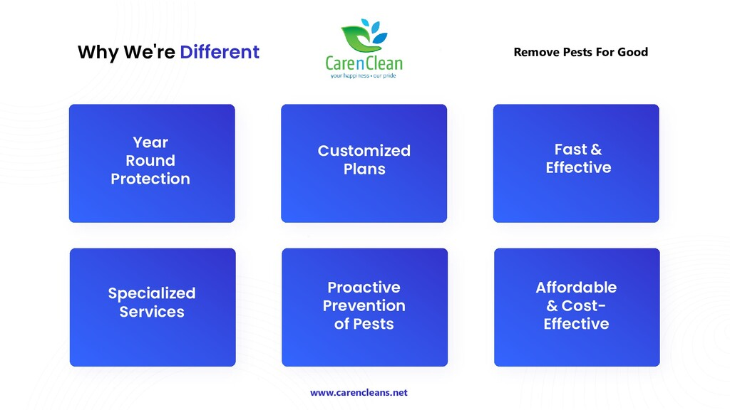 Why We're Different Remove Pests For Good Year ...