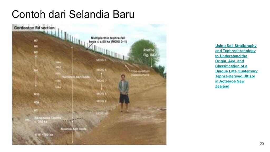 Contoh dari Selandia Baru 20 Using Soil Stratig...