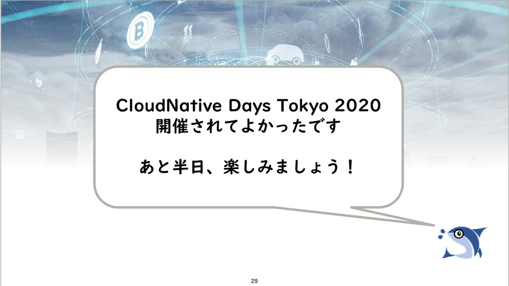 Copyright 2020 FUJITSU LIMITED CloudNative Days...