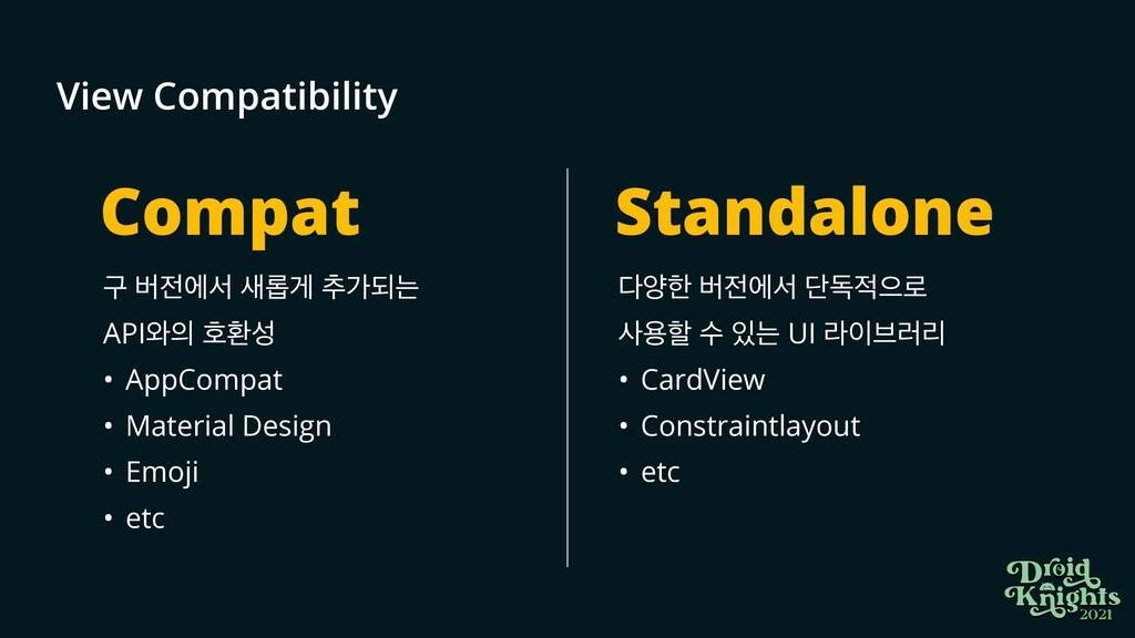View Compatibility ҳ ߡীࢲ ܂ѱ ୶оغח  API৬ ഐജ ...