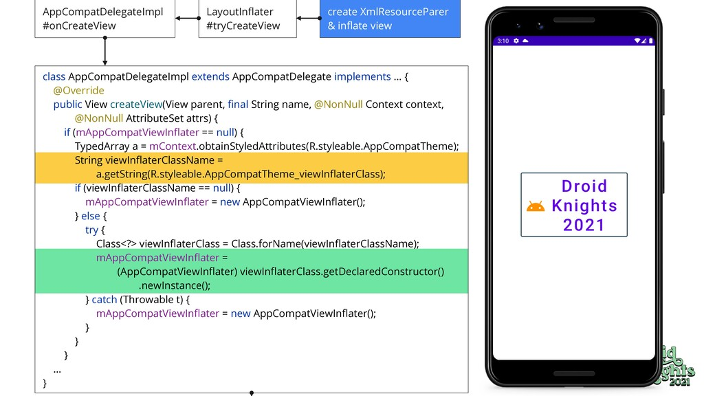 class AppCompatDelegateImpl extends AppCompatDe...