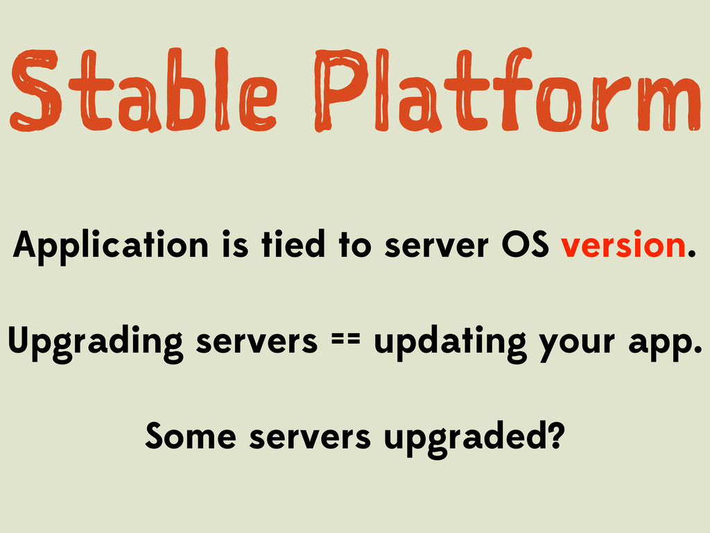Sal Pafr Application is tied to server O...