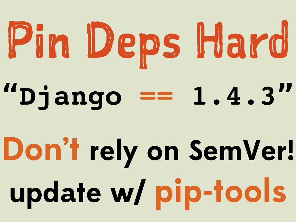 """Pn Dp Hr """"Django == 1.4.3"""" Don't rely on S..."""