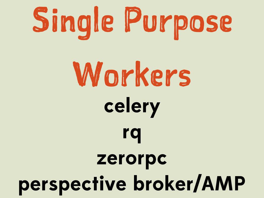 Snl Proe Wres celery rq zerorpc perspe...