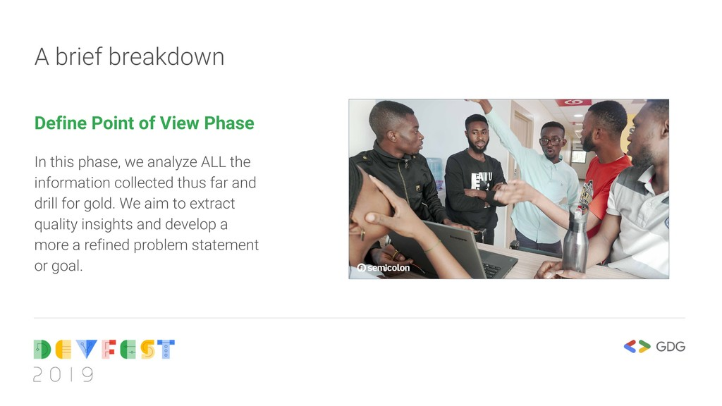 A brief breakdown Define Point of View Phase In...