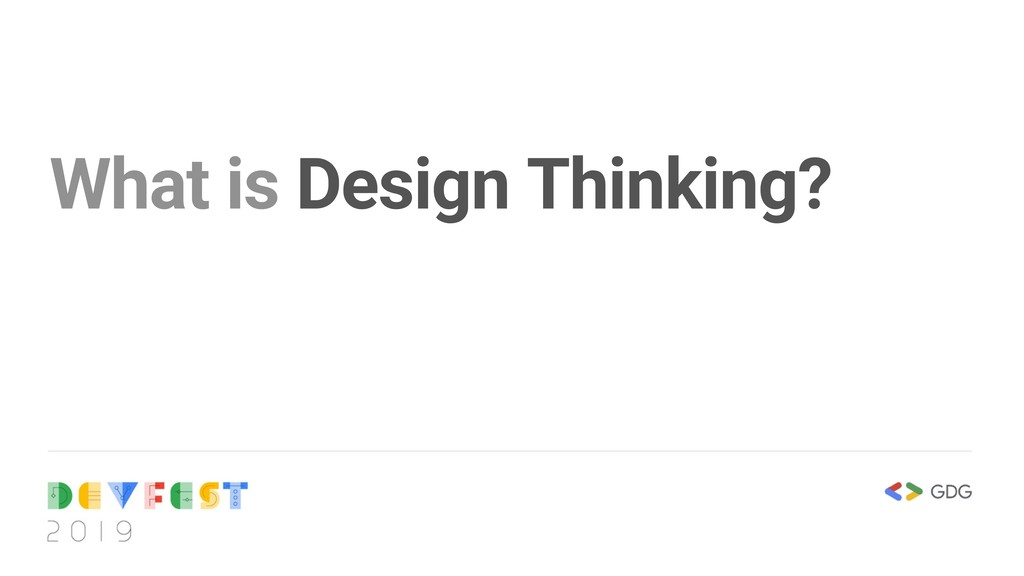 What is Design Thinking?