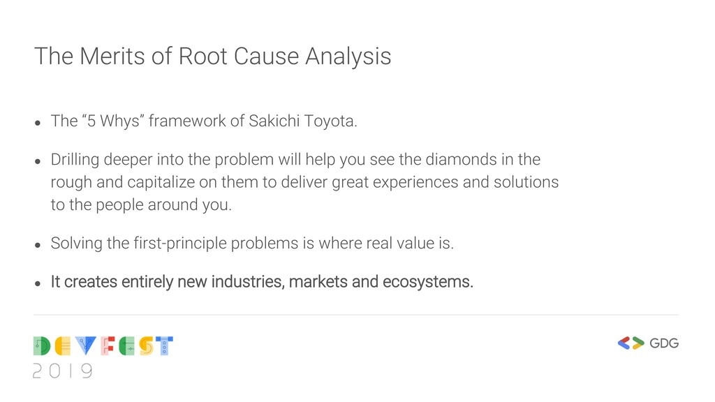 """The Merits of Root Cause Analysis ● The """"5 Whys..."""