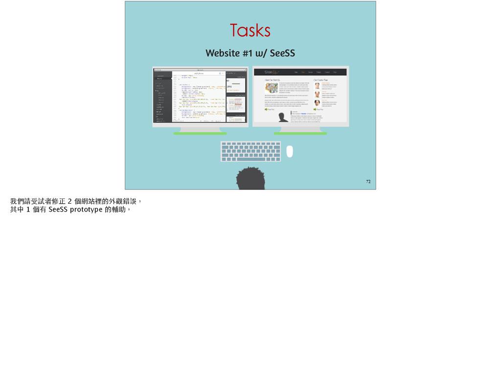 Tasks 72 Website #1 w/ SeeSS #©¯¦üŦ˜ 2 ‹đM¹ň...