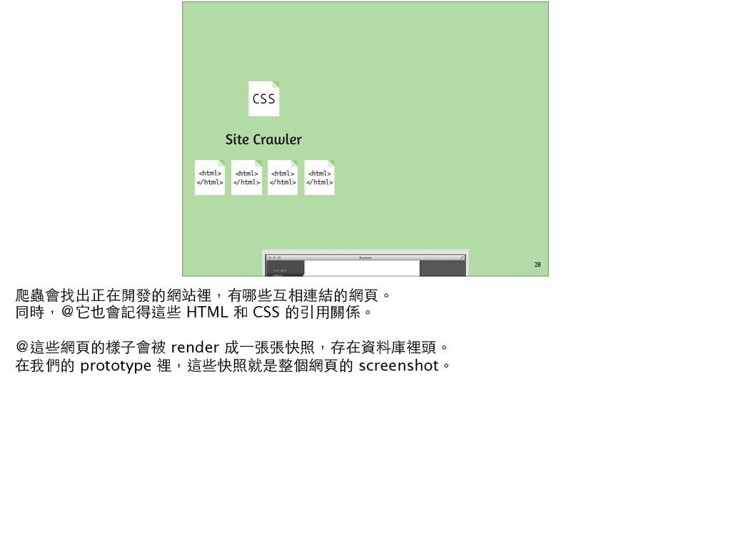 28 Site Crawler <html> </html> <html> </html> <...