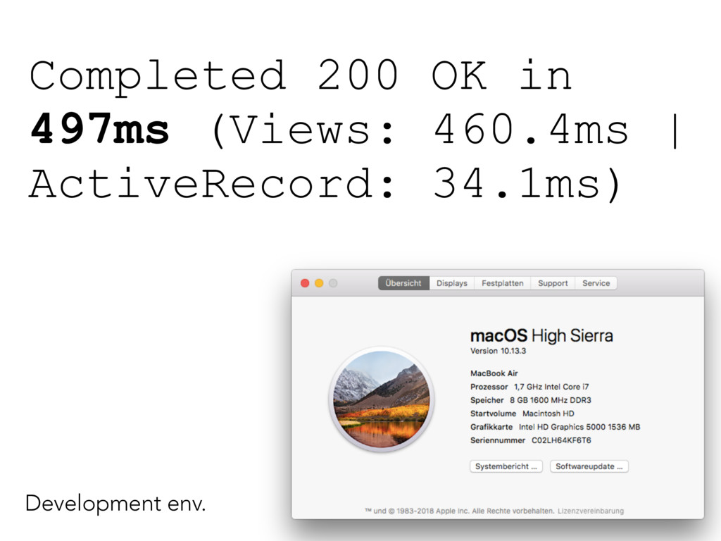 Completed 200 OK in 497ms (Views: 460.4ms | Act...