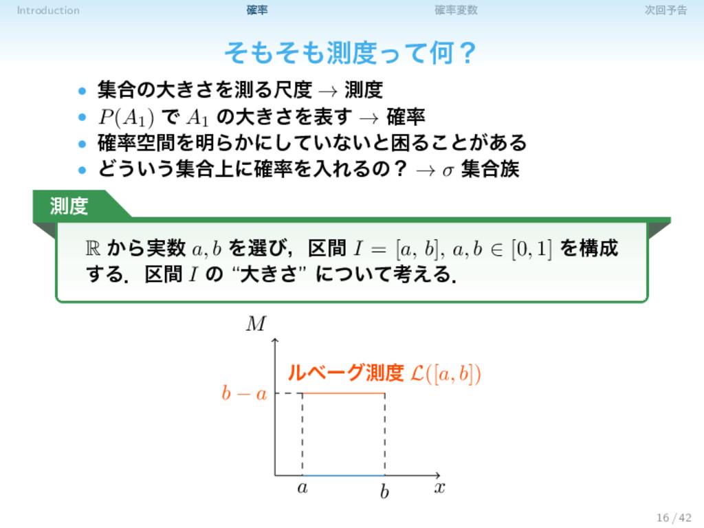 Introduction ֬ ֬ม ճ༧ࠂ ͦͦଌͬͯԿʁ • ू߹ͷେ͖͞Λଌ...