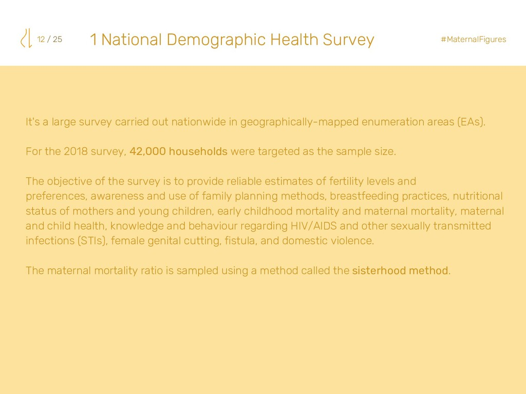 It's a large survey carried out nationwide in g...
