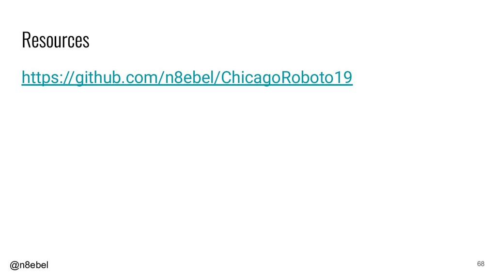 @n8ebel https://github.com/n8ebel/ChicagoRoboto...