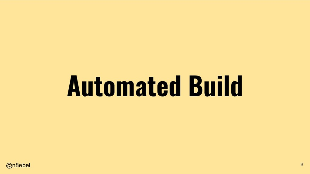 @n8ebel Automated Build 9