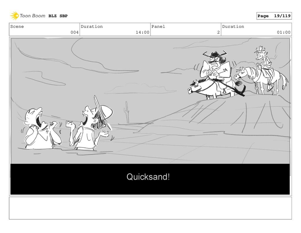 Scene 004 Duration 14:00 Panel 2 Duration 01:00...