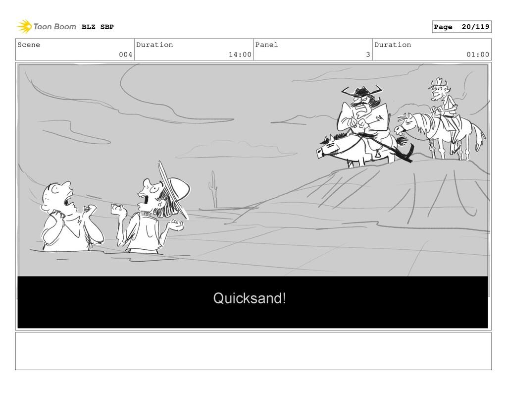 Scene 004 Duration 14:00 Panel 3 Duration 01:00...