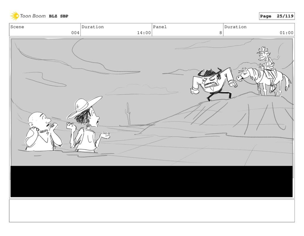 Scene 004 Duration 14:00 Panel 8 Duration 01:00...