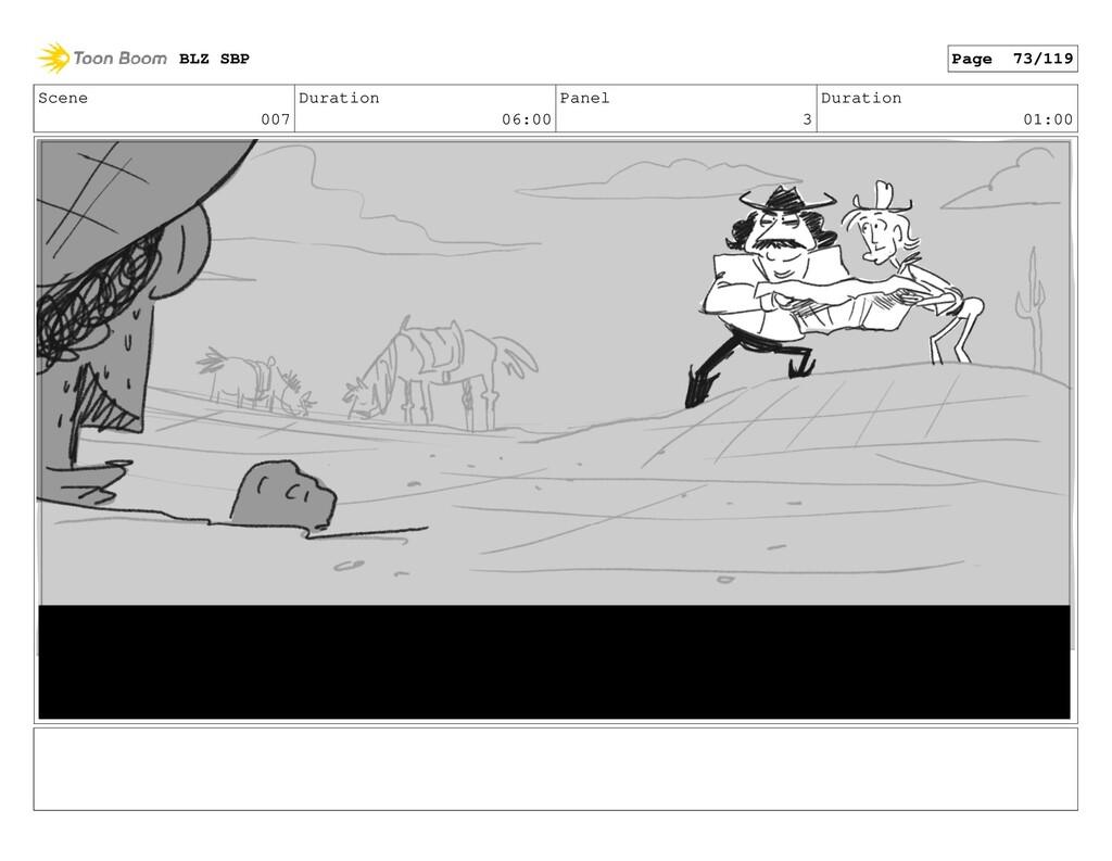 Scene 007 Duration 06:00 Panel 3 Duration 01:00...