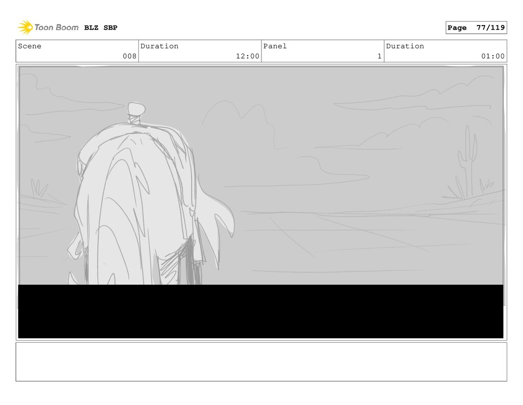 Scene 008 Duration 12:00 Panel 1 Duration 01:00...