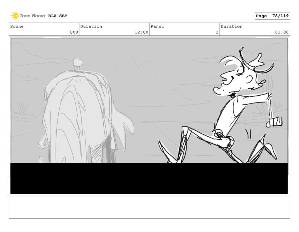 Scene 008 Duration 12:00 Panel 2 Duration 01:00...