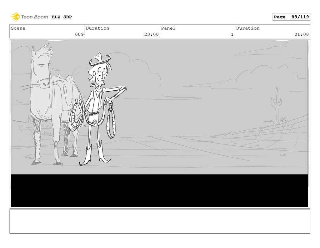 Scene 009 Duration 23:00 Panel 1 Duration 01:00...