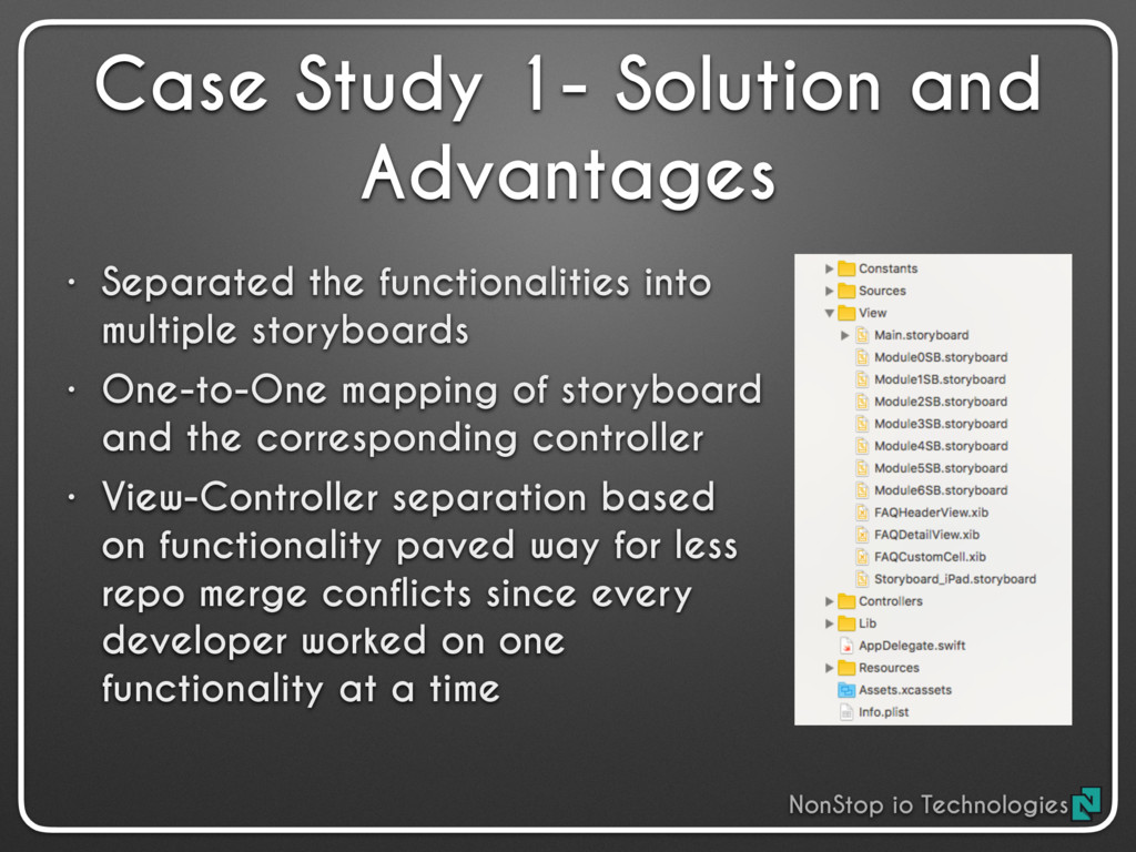 • Separated the functionalities into multiple s...