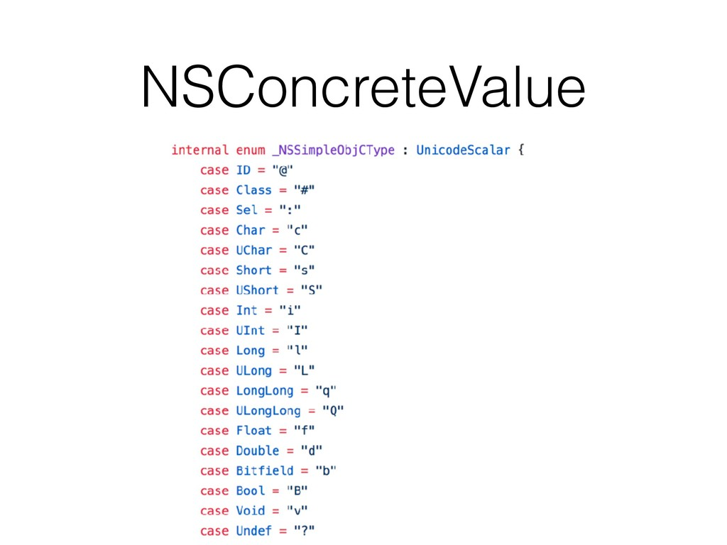 NSConcreteValue