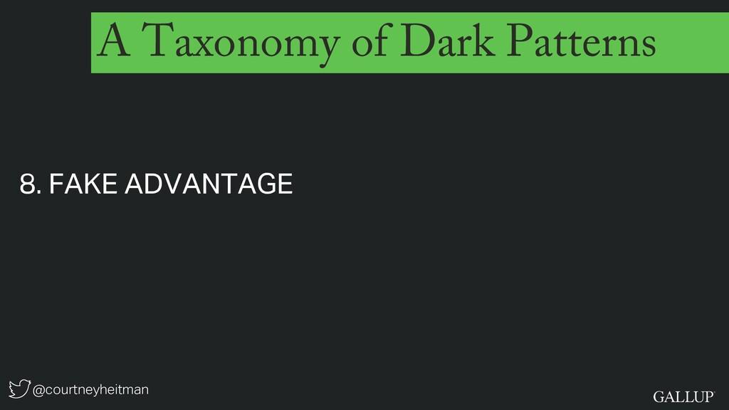 @courtneyheitman A Taxonomy of Dark Patterns 8....
