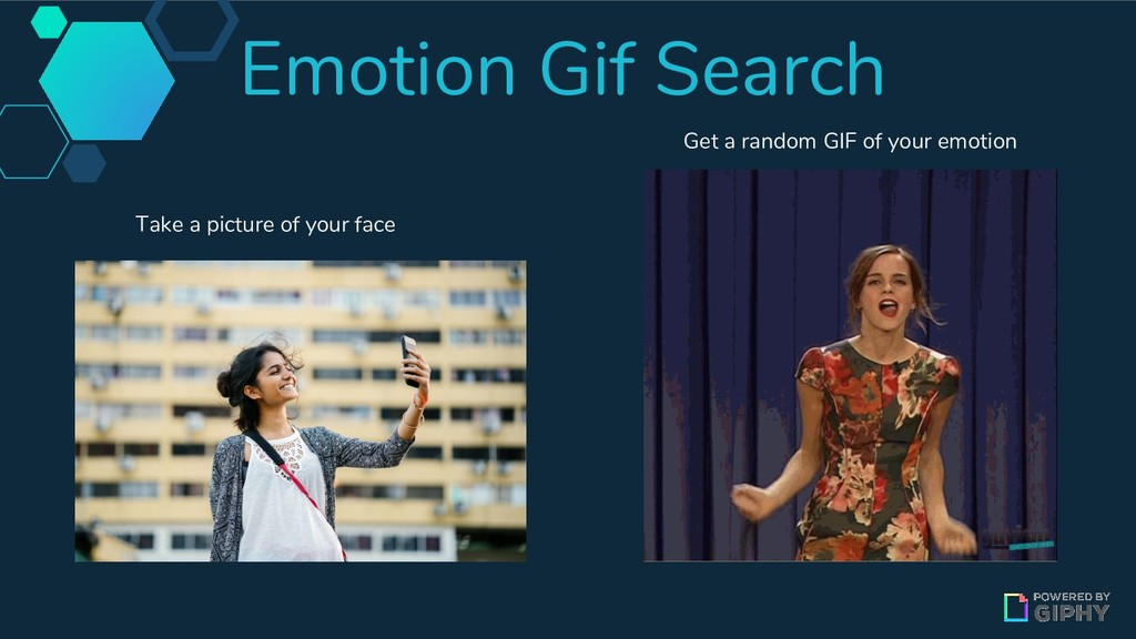 Emotion Gif Search Take a picture of your face ...
