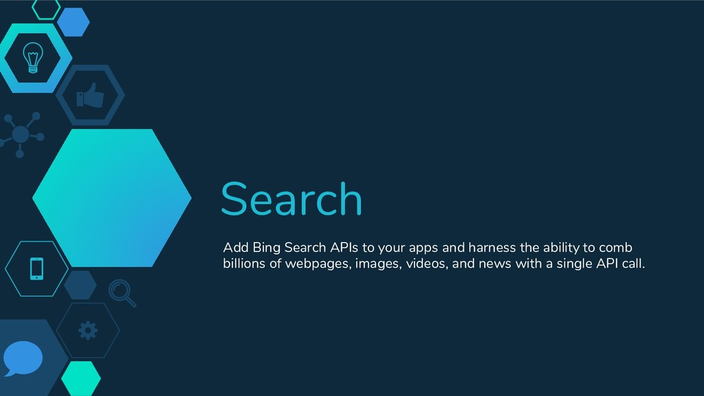 Search Add Bing Search APIs to your apps and ha...