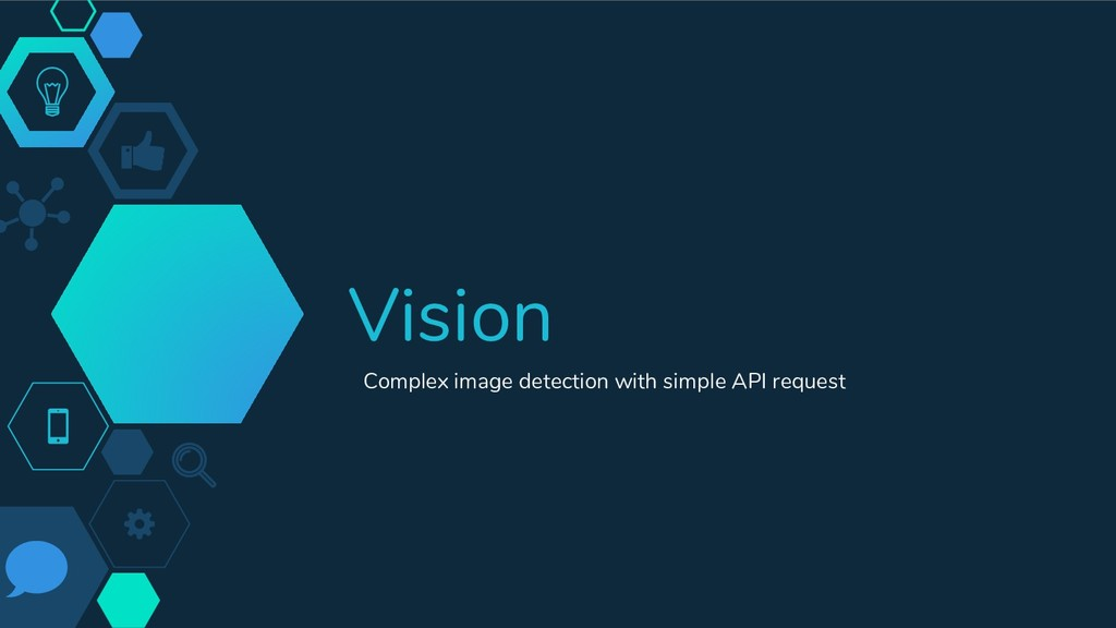 Vision Complex image detection with simple API ...