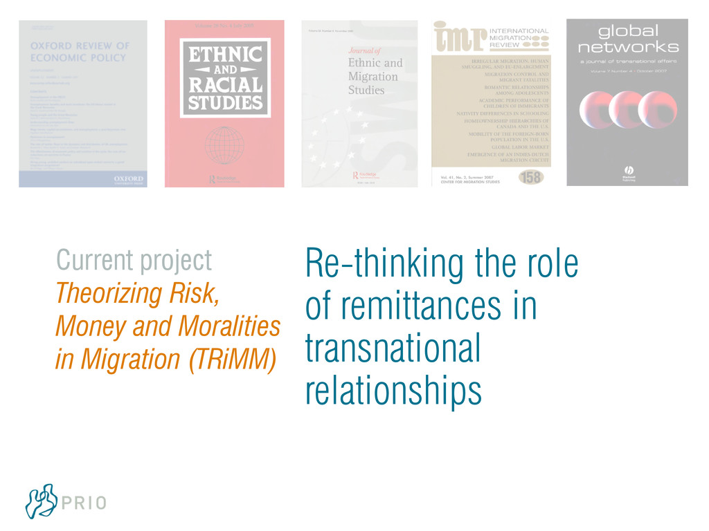 Re-thinking the role of remittances in transnat...