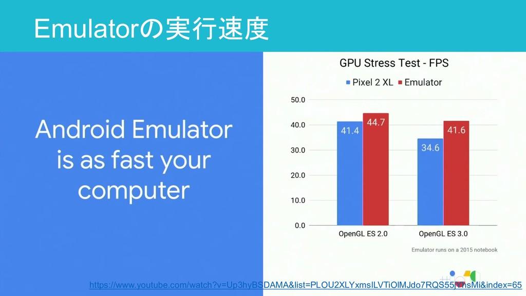 Emulatorの実行速度 13 https://www.youtube.com/watch?...