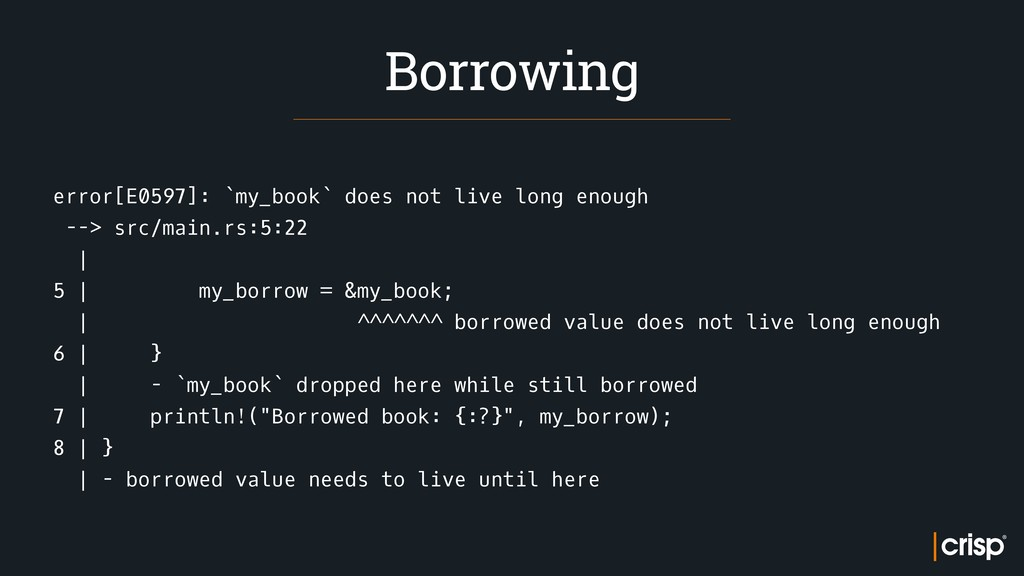 error[E0597]: `my_book` does not live long enou...