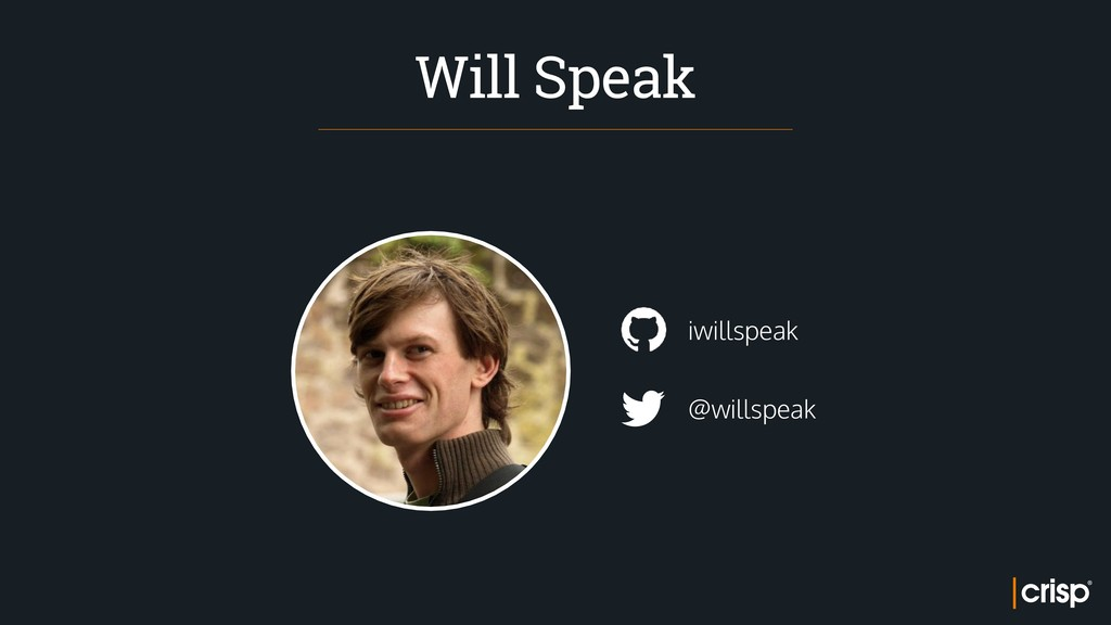 @willspeak iwillspeak Will Speak