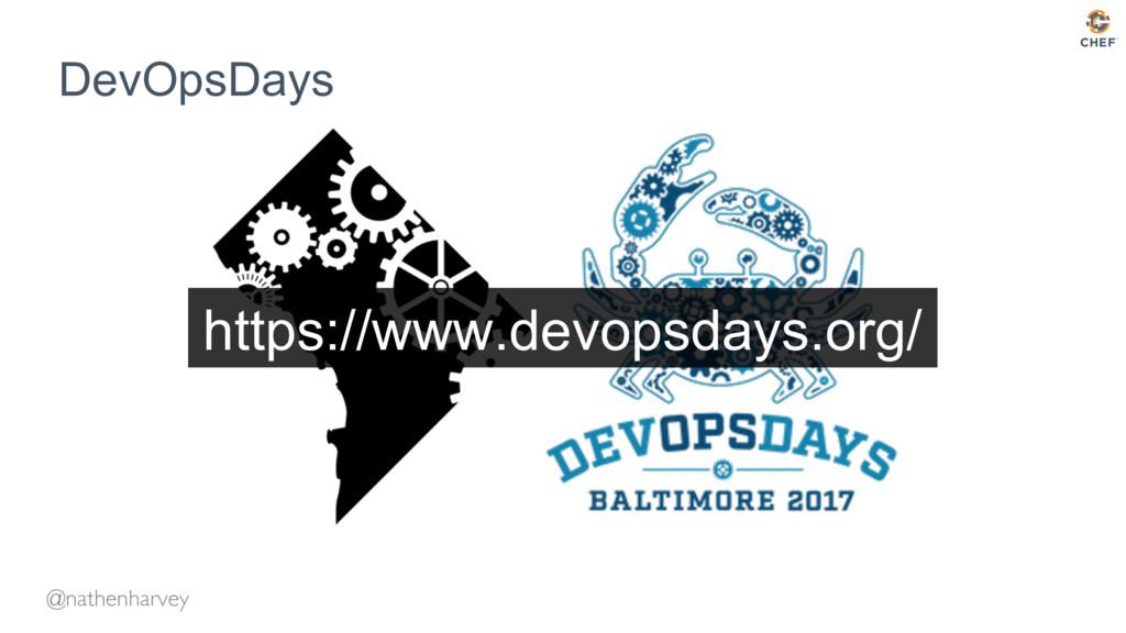 @nathenharvey DevOpsDays https://www.devopsdays...