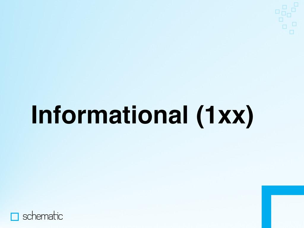 Informational (1xx)