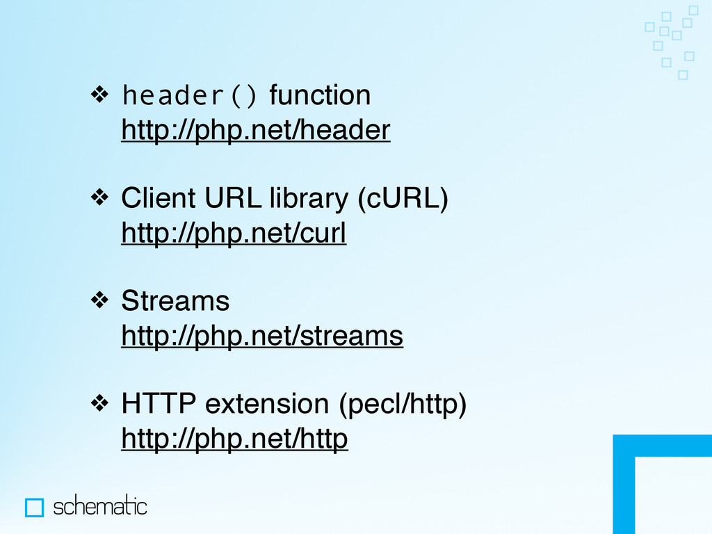 ❖ header() function http://php.net/header ❖ Cl...