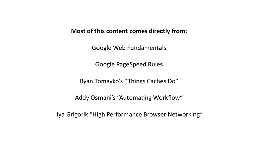 Most of this content comes directly from: Googl...