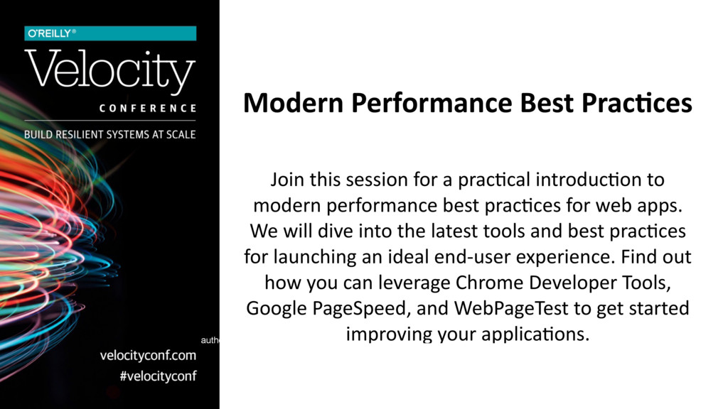 Modern Performance Best Prac0ces Join this sess...