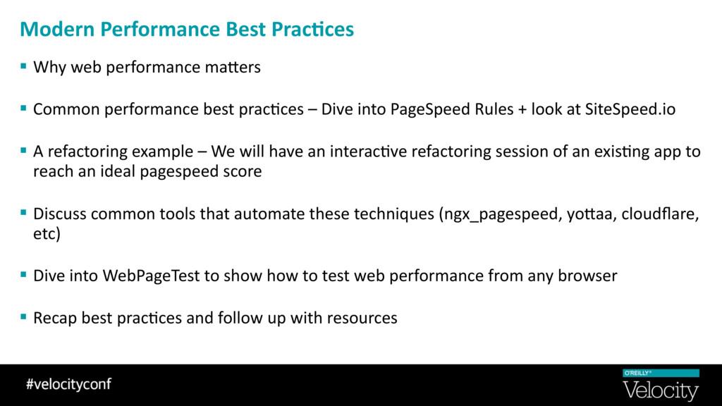 Modern Performance Best Prac0ces § Why web perf...